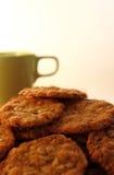 τα μπισκότα κοιλαίνουν πρά Στοκ Εικόνες