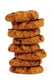 τα μπισκότα σοκολάτας αν&a Στοκ Φωτογραφία