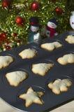 τα μπισκότα Χριστουγέννων βρίσκουν ότι οι εικόνες φαίνονται περισσότερο οι ίδιες σειρές χαρτοφυλακίων μου Στοκ Εικόνες
