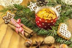τα μπισκότα Χριστουγέννων βρίσκουν ότι οι εικόνες φαίνονται περισσότερο οι ίδιες σειρές χαρτοφυλακίων μου Στοκ Φωτογραφίες
