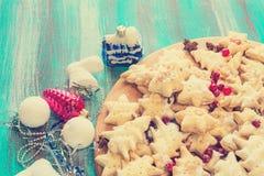 τα μπισκότα Χριστουγέννων βρίσκουν ότι οι εικόνες φαίνονται περισσότερο οι ίδιες σειρές χαρτοφυλακίων μου από Christmas-tree τις  Στοκ Φωτογραφίες