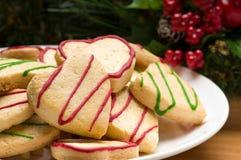 τα μπισκότα Χριστουγέννων & Στοκ Εικόνες