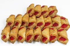 Τα μπισκότα, ψήνουν, ψημένος, επιδόρπιο, αρτοποιείο, ζάχαρη, γλυκός, νόστιμη Στοκ εικόνα με δικαίωμα ελεύθερης χρήσης