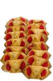 Τα μπισκότα, ψήνουν, ψημένος, επιδόρπιο, αρτοποιείο, ζάχαρη, γλυκός, νόστιμη Στοκ Εικόνες
