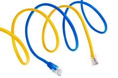 τα μπλε σκοινιά επιδιορ&th στοκ εικόνες με δικαίωμα ελεύθερης χρήσης