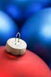 τα μπλε Χριστούγεννα δια& Στοκ εικόνες με δικαίωμα ελεύθερης χρήσης