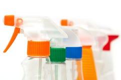τα μπουκάλια χρωμάτισαν τ&omi Στοκ εικόνες με δικαίωμα ελεύθερης χρήσης