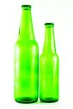 τα μπουκάλια μπύρας ανασκόπησης χρωματίζουν το ευγενές φωτογραφισμένο πορτοκάλι στούντιο κίτρινο στοκ εικόνα