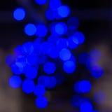 Τα μπλε φω'τα Στοκ Εικόνα