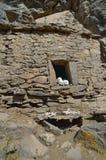 Τα νεκρικά κέντρα, στηρίχτηκαν στο βράχο Στοκ εικόνα με δικαίωμα ελεύθερης χρήσης