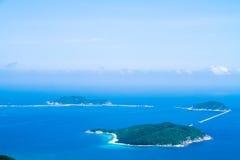 Τα νησιά Θαλασσών της Νότιας Κίνας Στοκ φωτογραφία με δικαίωμα ελεύθερης χρήσης