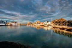 Τα νησιά Νορβηγία Lofoten Στοκ εικόνες με δικαίωμα ελεύθερης χρήσης