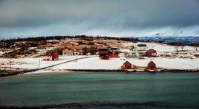 Τα νησιά Νορβηγία Lofoten Στοκ εικόνα με δικαίωμα ελεύθερης χρήσης