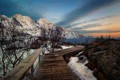 Τα νησιά Νορβηγία Lofoten Στοκ Φωτογραφία