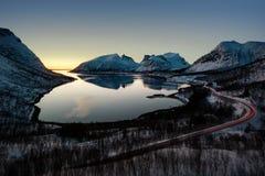 Τα νησιά Νορβηγία Lofoten Στοκ Εικόνες