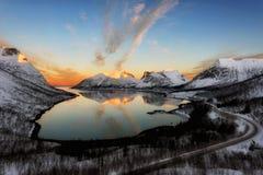 Τα νησιά Νορβηγία Lofoten Στοκ φωτογραφία με δικαίωμα ελεύθερης χρήσης