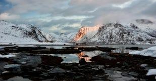 Τα νησιά Νορβηγία Lofoten Στοκ φωτογραφίες με δικαίωμα ελεύθερης χρήσης