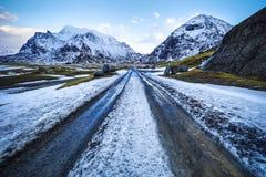 τα νησιά Όμορφο τοπίο άνοιξη της Νορβηγίας Στοκ φωτογραφία με δικαίωμα ελεύθερης χρήσης