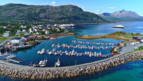 Τα νησιά Lofoten είναι ένα αρχιπέλαγος στο νομό Nordland, Νορβηγία στοκ φωτογραφία με δικαίωμα ελεύθερης χρήσης