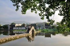 Τα ξημερώματα Hongcun Στοκ Φωτογραφίες