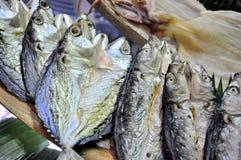 Τα ξηρά θαλασσινά εισάγονται σε θαλασσινά παρουσιάζουν στο Βιετνάμ Στοκ Εικόνες