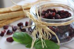 Τα ξηρά τα βακκίνια, μπισκότα, ιταλικά τρόφιμα, ιταλικά τσιμπάνε, ιταλικά μπισκότα Στοκ εικόνες με δικαίωμα ελεύθερης χρήσης