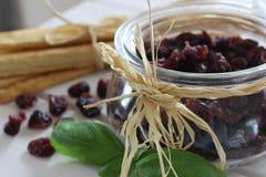 Τα ξηρά τα βακκίνια, μπισκότα, ιταλικά τρόφιμα, ιταλικά τσιμπάνε, ιταλικά μπισκότα Στοκ φωτογραφία με δικαίωμα ελεύθερης χρήσης