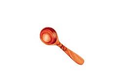 Τα ξύλινα εργαλεία κουζινών απομονώνουν Στοκ Φωτογραφίες