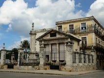 Τα ομορφότερα μέρη τουριστών στην Αβάνα στην Κούβα Στοκ φωτογραφία με δικαίωμα ελεύθερης χρήσης