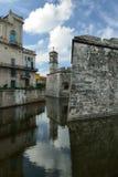 Τα ομορφότερα μέρη τουριστών στην Αβάνα στην Κούβα Στοκ Φωτογραφία