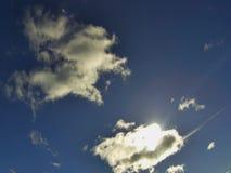 Τα ορμώντας σύννεφα, timelapse απόθεμα βίντεο