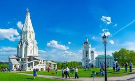 Τα ορόσημα Kolomenskoye Στοκ εικόνα με δικαίωμα ελεύθερης χρήσης