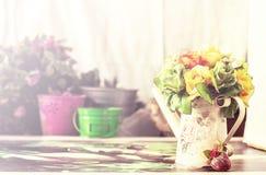 Τα λουλούδια διακοσμούν του γάμου Στοκ Εικόνες