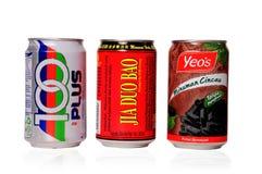 τα δοχεία πίνουν μαλακό Στοκ Φωτογραφίες