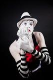 τα δολάρια δίνουν mime θεατρ Στοκ εικόνα με δικαίωμα ελεύθερης χρήσης