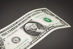 τα δολάρια ανασκόπησης μας απομόνωσαν λευκούς Στοκ φωτογραφία με δικαίωμα ελεύθερης χρήσης