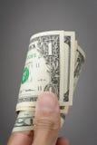 τα δολάρια ανασκόπησης μας απομόνωσαν λευκούς Στοκ Φωτογραφία