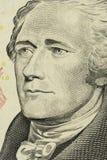 τα δολάρια ανασκόπησης μας απομόνωσαν λευκούς Στοκ εικόνα με δικαίωμα ελεύθερης χρήσης