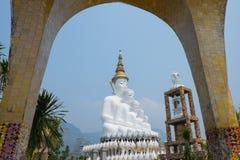 Τα πέντε Βούδας Phetchabun Ταϊλάνδη Στοκ Εικόνες