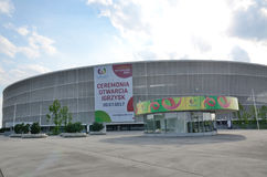 Τα παγκόσμια παιχνίδια 2017 σε Wroclaw, Πολωνία Στοκ Εικόνα