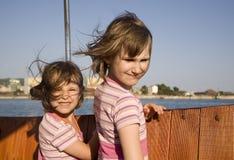 τα παιδιά βαρκών Στοκ φωτογραφίες με δικαίωμα ελεύθερης χρήσης