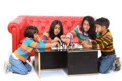 τα παιδιά ομαδοποιούν το  Στοκ Εικόνες
