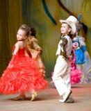 τα παιδιά ομορφιάς αμφισβ&e Στοκ Εικόνα