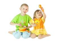 τα παιδιά παίζουν Στοκ εικόνες με δικαίωμα ελεύθερης χρήσης