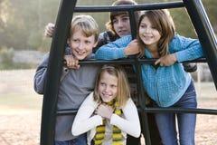 τα παιδιά σταθμεύουν το π&om Στοκ φωτογραφία με δικαίωμα ελεύθερης χρήσης