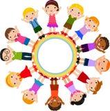 τα παιδιά ομαδοποιούν Στοκ Εικόνα