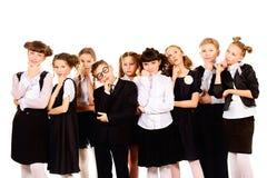 Τα παιδιά σκέφτονται Στοκ Φωτογραφίες