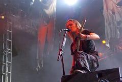 Τα παιδιά Bodom ζουν στο φεστιβάλ χερσονήσων Στοκ Εικόνες