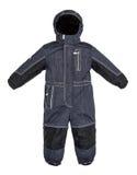 Τα παιδιά snowsuit πέφτουν Στοκ Φωτογραφίες