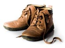 Τα παπούτσια δέρματος Στοκ φωτογραφία με δικαίωμα ελεύθερης χρήσης